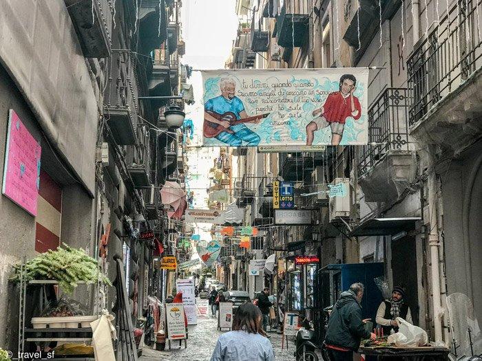 Cosa vedere a Napoli - Via Toledo