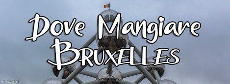 Copertina dove mangiare a Bruxelles