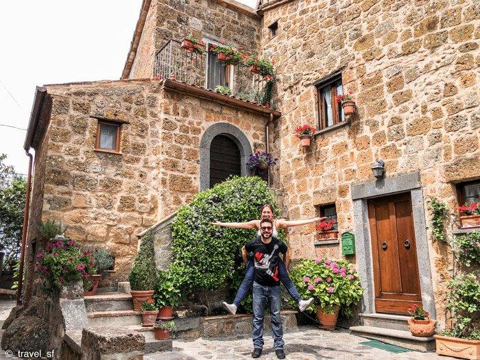 Borghi d'Italia - Civita di Bagnoregio - Scorcio del borgo
