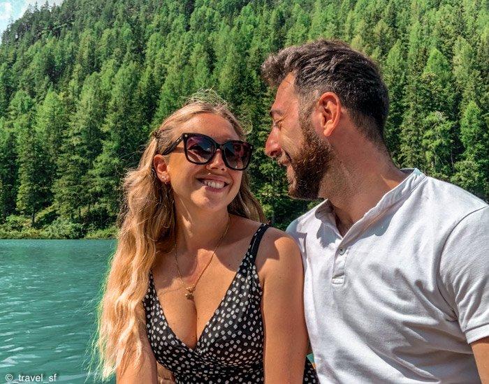 Dolomiti: noi in barca