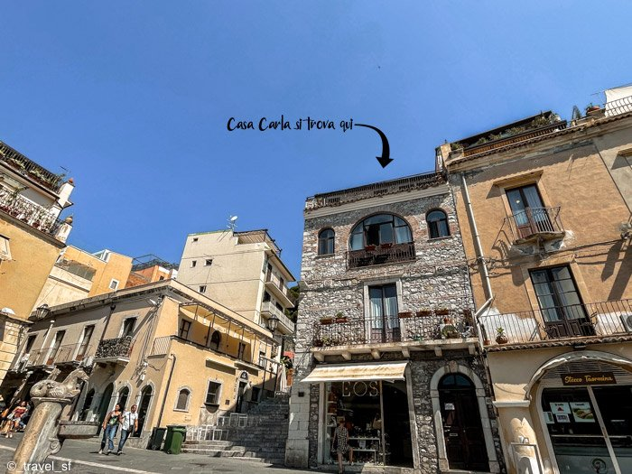 Dove dormire a Taormina: Casa Carla